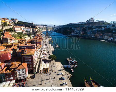 Ribeira District of Porto, Portugal