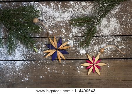 Christmas New Year decoration composition