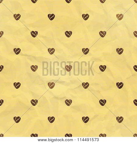 Seamless Coffee Theme. Vector Illustration, Eps10.