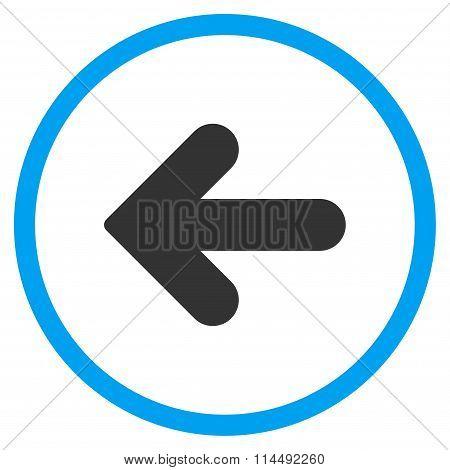 Arrow Left Flat Icon