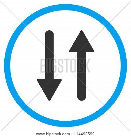 Arrows Exchange Vertical Icon