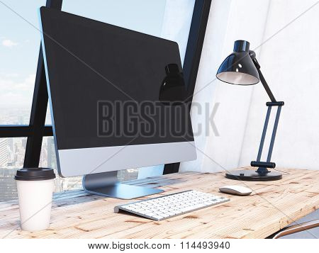 Workplace In The Office