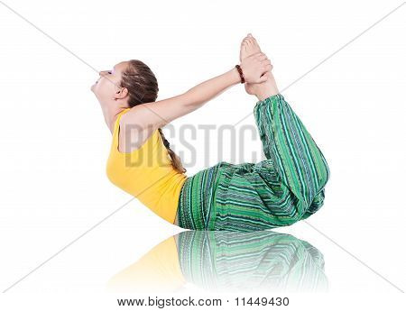 Yoga Dhanurasana Pose