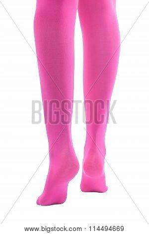 Shapely female legs.