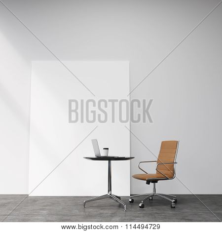 Castor Chair  At The Table