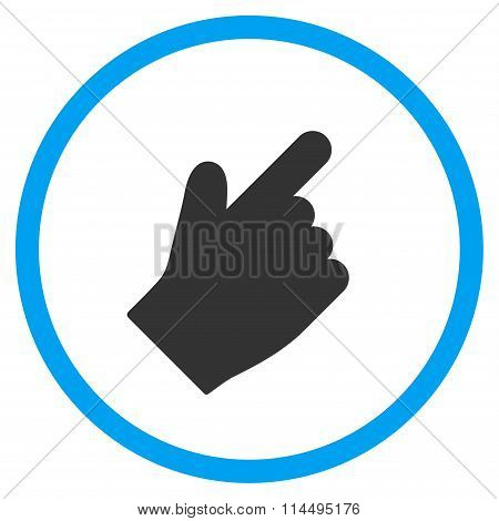 Up Right Index Finger Icon