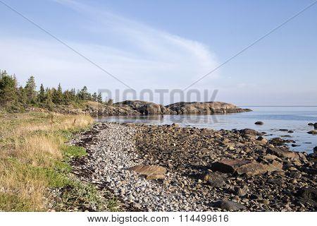 Coast of White sea, northern Russia