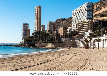 Playa De La Albufereta. Alicante