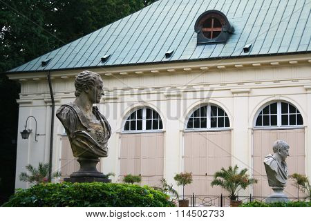 busts old orangery