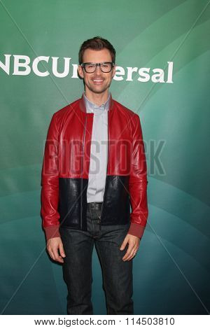 LOS ANGELES - JAN 14:  Brad Goreski at the NBCUniversal Cable TCA Press Day Winter 2016 at the Langham Huntington Hotel on January 14, 2016 in Pasadena, CA