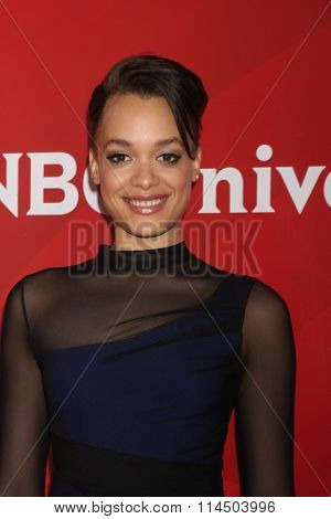 LOS ANGELES - JAN 14:  Britne Oldford at the NBCUniversal Cable TCA Press Day Winter 2016 at the Langham Huntington Hotel on January 14, 2016 in Pasadena, CA