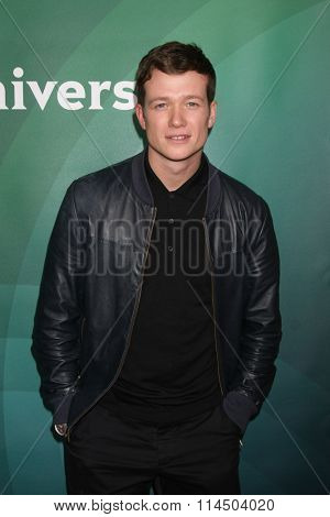 LOS ANGELES - JAN 14:  Ed Speelers at the NBCUniversal Cable TCA Press Day Winter 2016 at the Langham Huntington Hotel on January 14, 2016 in Pasadena, CA