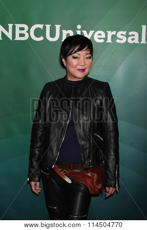 LOS ANGELES - JAN 14:  Margaret Cho at the NBCUniversal Cable TCA Press Day Winter 2016 at the Langham Huntington Hotel on January 14, 2016 in Pasadena, CA
