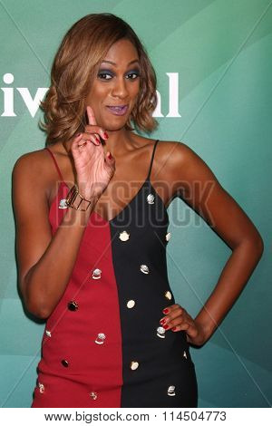 LOS ANGELES - JAN 14:  Lauren Maillian at the NBCUniversal Cable TCA Press Day Winter 2016 at the Langham Huntington Hotel on January 14, 2016 in Pasadena, CA