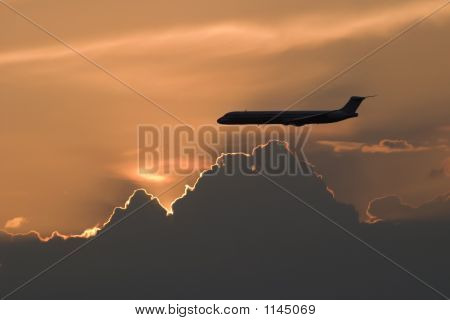 Md80 Sunset
