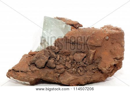 Fluorite Crystal Mineral Sample