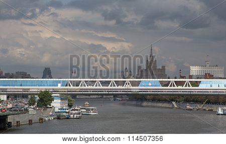 Moscow River Landscape