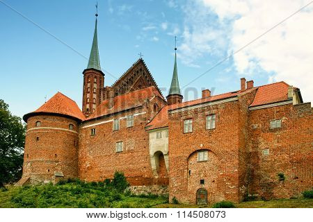 Frombork cathedral back view