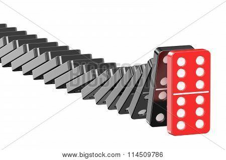 Domino, Leader Concept