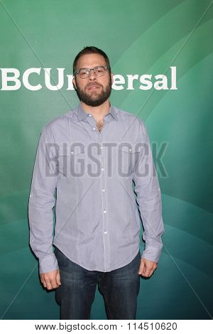 LOS ANGELES - JAN 14:  Ryan Condal at the NBCUniversal Cable TCA Press Day Winter 2016 at the Langham Huntington Hotel on January 14, 2016 in Pasadena, CA