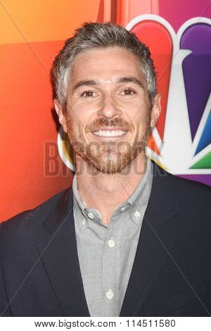 LOS ANGELES - JAN 13:  Dave Annable at the NBCUniversal TCA Press Day Winter 2016  at the Langham Huntington Hotel on January 13, 2016 in Pasadena, CA