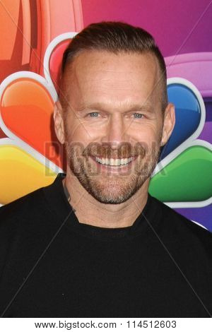 LOS ANGELES - JAN 13:  Bob Harper at the NBCUniversal TCA Press Day Winter 2016  at the Langham Huntington Hotel on January 13, 2016 in Pasadena, CA