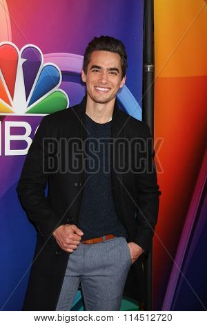 LOS ANGELES - JAN 13:  Jose Moreno Brooks at the NBCUniversal TCA Press Day Winter 2016 at the Langham Huntington Hotel on January 13, 2016 in Pasadena, CA