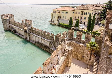 View From Scaliger Castle, Sirmione, Italy