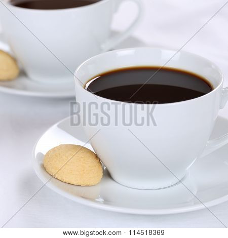 Fresh Coffee Drinks In Cup
