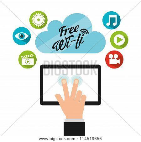 free wifi design