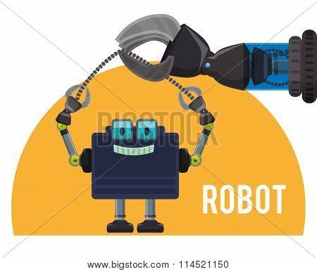 Robot icon design