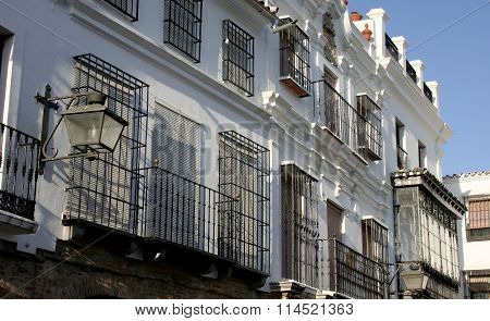Plaza Chica Balcony, Zafra, Spain