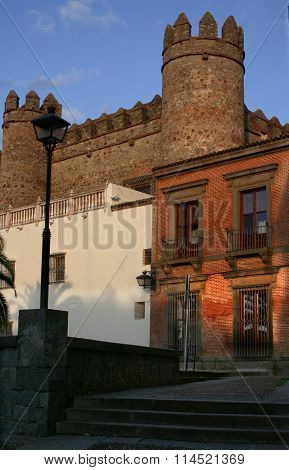 Palace Of The Dukes Of Feria, Today The Parador De Zafra, Spain