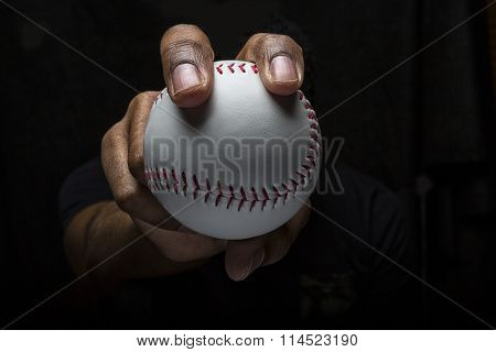 Baseball Fastball Grip