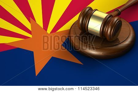 Arizona Law Legal System Concept