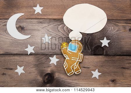 Creative On A Theme Thought Astronaut