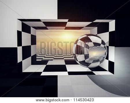 Checkered Entrance Horizon
