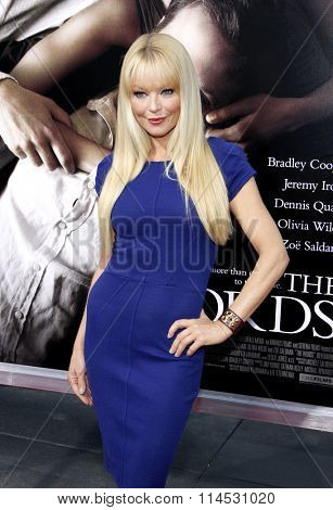 Charlotte Ross at the Los Angeles premiere of