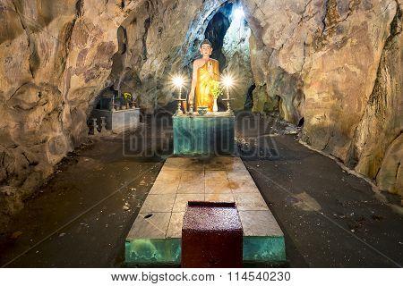 Sacred Buddha Statue.