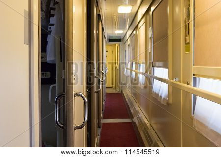 Train Coach Interior