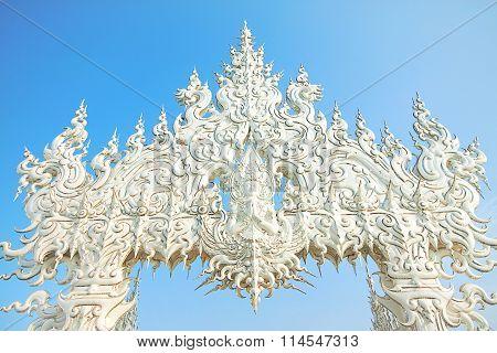 The White Temple In Chiangrai , Thailand