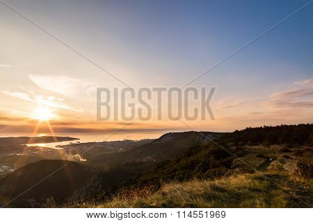 Sunrise From The Hills