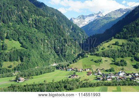 Landscape in the Switzerland