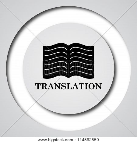 Translation Book Icon