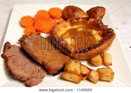 Roast Beef Lunch