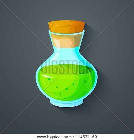 The elixir of Life icon vector illustration