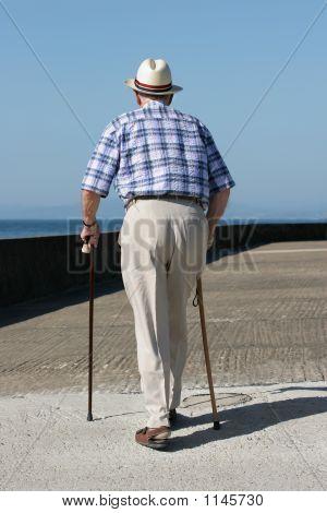 Disabled Gentleman