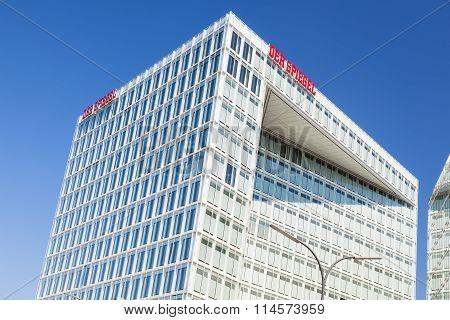 Spiegel Buildings In Hamburg, Germany