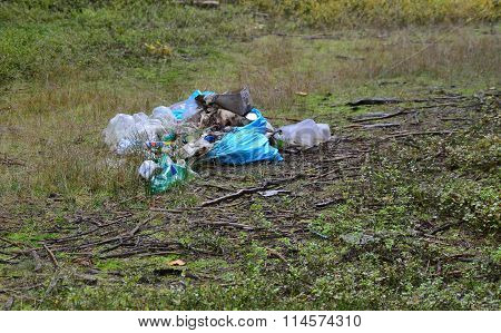 Nature Contaminated Waste, South Bohemia
