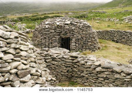 Irish Beehive Stone House